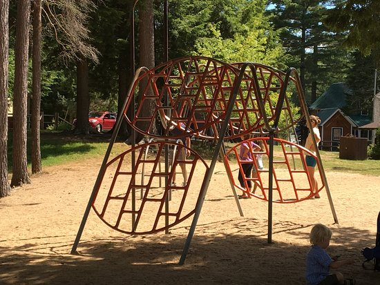 Inlet, NY: Arrowhead Park - another playground