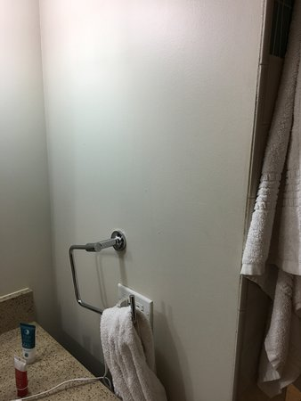 Turtle Bay Resort: You Have An Entire Wall To Install A Towel Holder, And
