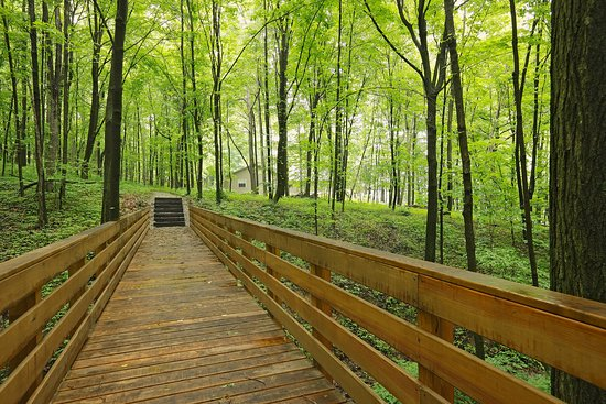 Bridge on our Hiking Path - Picture of Sojourner's Lodge