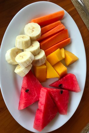 San Vito, Costa Rica: One part of the extensive breakfast