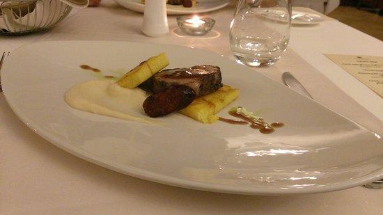 Andrassy Residence Wine & Spa: 5 fogásos vacsora része