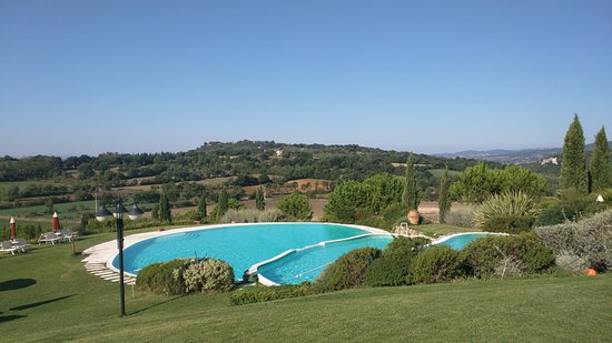 Some of the best views in tuscany picture of bagno santo hotel