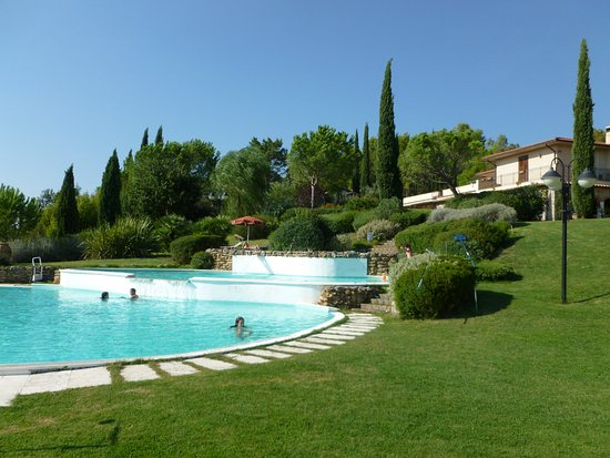 Bagno Santo Hotel: Some of the best views in Tuscany