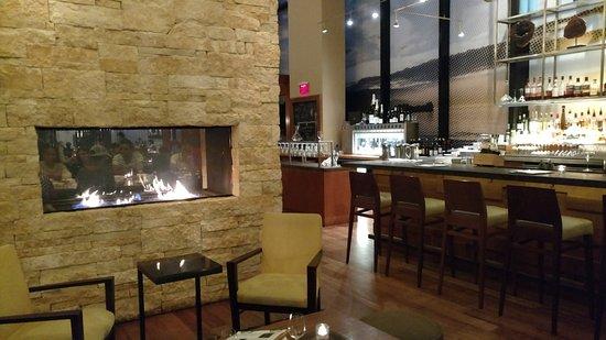 Yew Seafood + Bar: Bar Area