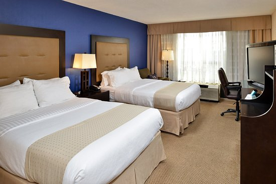 Holiday Inn Washington DC / Greenbelt: Double Queen Bedded Guest Room