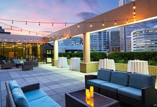 Sheraton Inner Harbor Hotel: Potomac Terrace