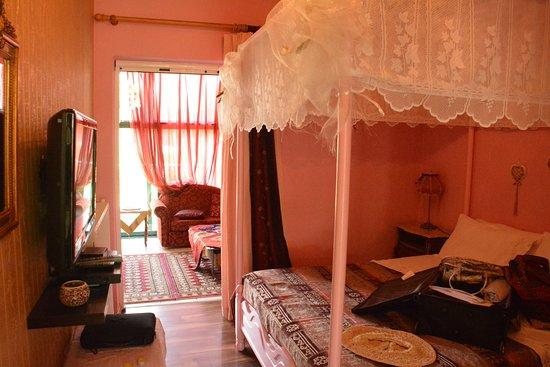 Aspioti - Pipitsa Luxury Apartments: Double room with sliding door to lounge