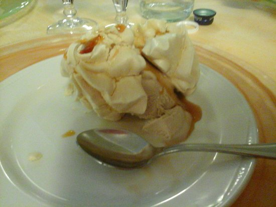 Hotel San Giorgio : Meringa sublime cuoco splendido