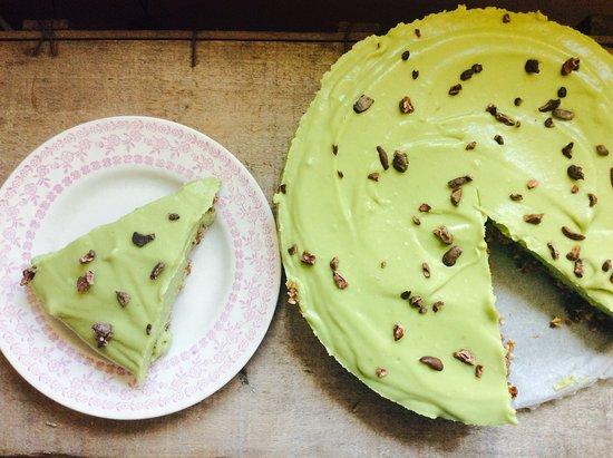 Castle Cary, UK: Avocado cheesecake