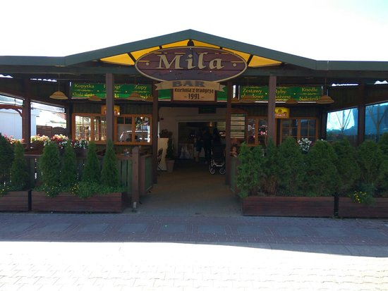 Miedzywodzie, Πολωνία: Mila Cafe