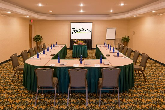 Radisson Hotel Manchester: Meeting Room
