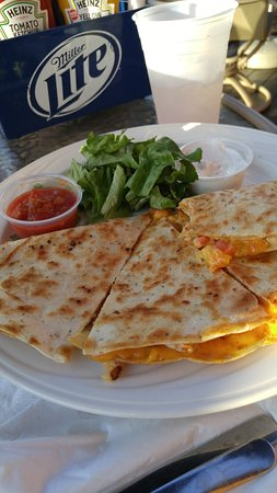 McGregor, MN : Yep, that's a quesadilla