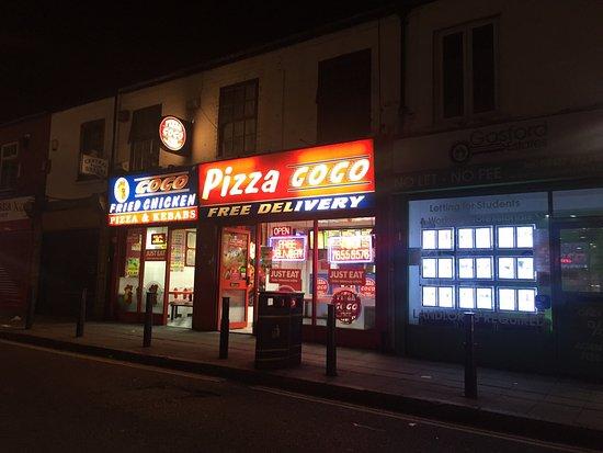 Pizza Gogo Coventry Menu Prices Restaurant Reviews