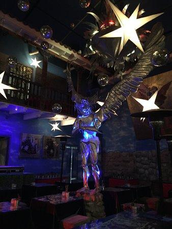 Fallen Angel: interior dining