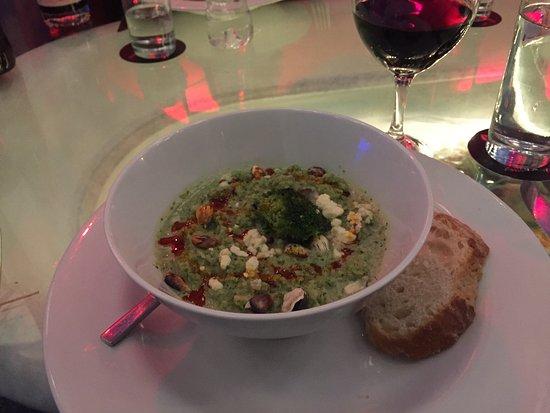 Fallen Angel: broccoli soup