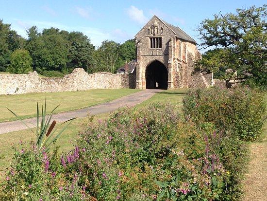 Washford, UK: Cleeve Abbey: gatehouse