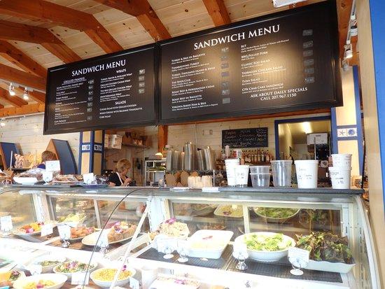 Menu Picture Of Cape Porpoise Kitchen Tripadvisor