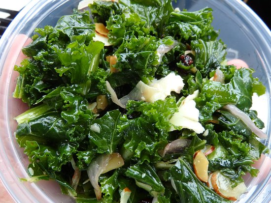 kale salad - Picture of Cape Porpoise Kitchen, Cape Porpoise ...