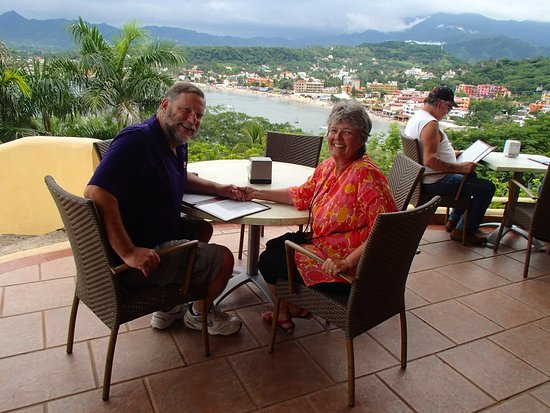 Vista Guayabitos: The view of Rincon Guayabitos..