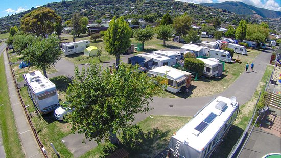 Tahuna Beach Kiwi Holiday Park and Motel: White Zone Camping
