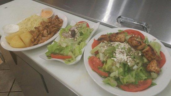Greek Restaurant Burlington Plains Road