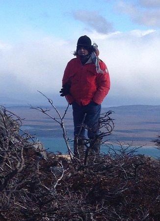 Mirador Cerro Dorotea: No topo