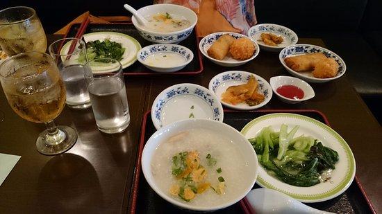 Jukei Saro, Honten: 前菜と揚げ物等、飲茶は後で、写真撮り忘れれました!