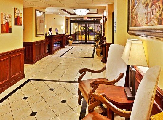 Ponca City, OK: Hotel Lobby