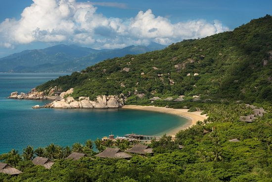 Six Senses Ninh Van Bay: Aerial View Beach Villas A