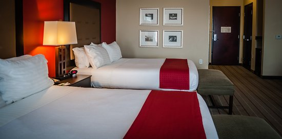 Holiday Inn Hotel & Suites Lake Charles W-Sulphur: Double Bed Guest Room