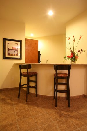 Holiday Inn Omaha Downtown Airport : Luxury King Non-Smoking Jacuzzi Suite with Kitchenette