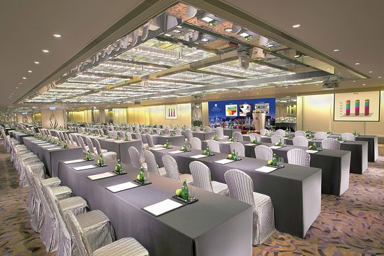Regal Kowloon Hotel - Versailles Ballroom - Meeting Setup with LED Wall