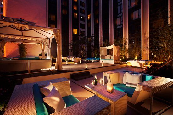 Regal Kowloon Hotel La Terrasse The Hotel S Garden Picture Of
