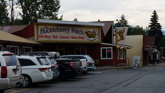 Hungry Horse, MT: Huckleberry Patch Cafe and Gift Shop
