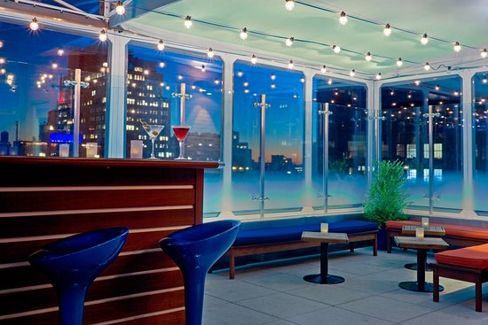 Hotel Indigo New York City, Chelsea: Bar and Lounge