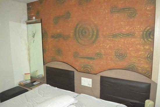 Hotel Aditya Deluxe : Room view