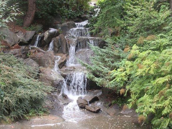 Waterfall, VanDusen Botanical Garden, Vancouver, BC