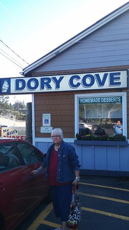 Lincoln City, OR: Dory Cove front entrance
