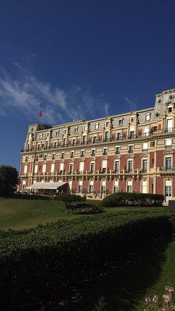 Salle de bain photo de h tel du palais biarritz - Prix chambre hotel du palais biarritz ...