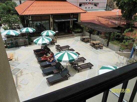 Sabai Lodge: Вид сверху