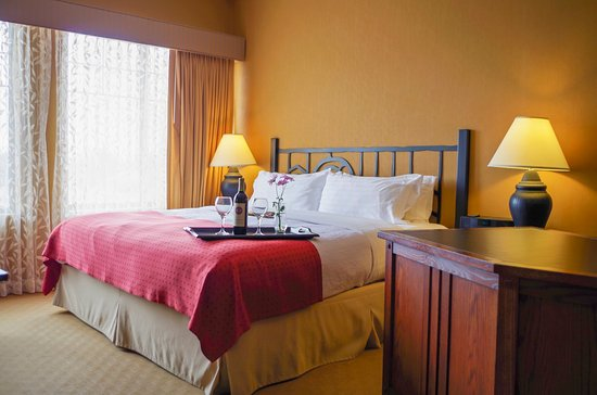 Pewaukee, Wisconsin: King Bed Guest Room