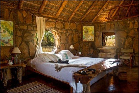 El Karama Eco Lodge  Hobbit house bedroom 1. Hobbit house bedroom 1   Picture of El Karama Eco Lodge  Laikipia