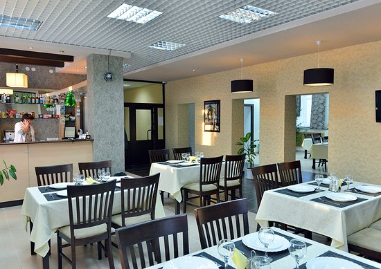 Solikamsk, Rusia: Cafe in the hotel
