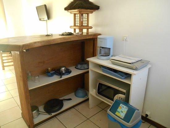 Espace bureau photo de pension de la plage tahiti punaauia