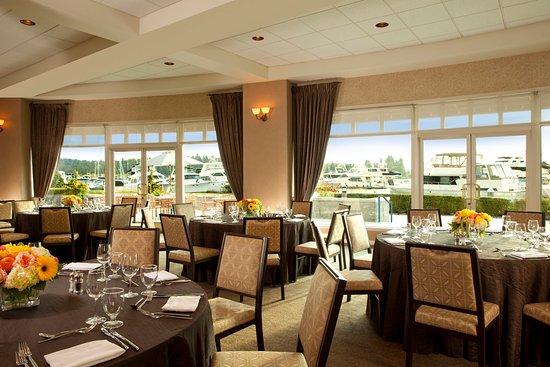 Woodmark Hotel & Still Spa : Woodmark Hotel_Meetings & Events_Marina Room