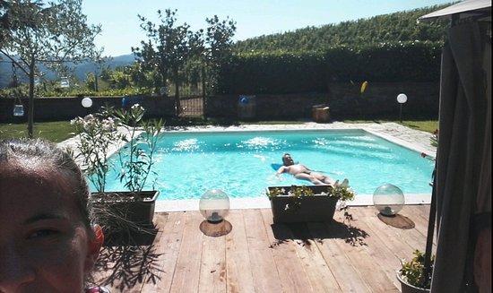 Cremolino, อิตาลี: piscina