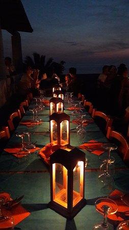 Ginostra, Ιταλία: Cena a lume di candela