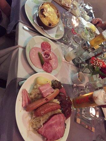 Restaurant le Cellier: Bon appétit !