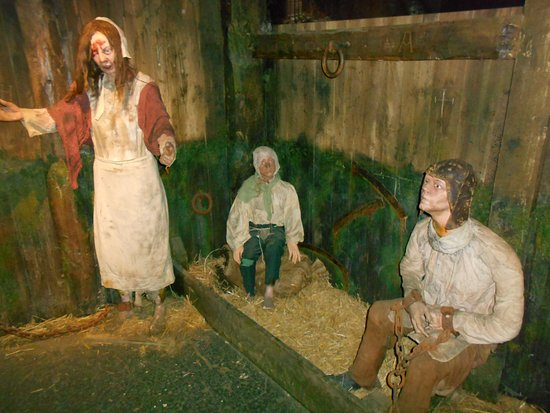 Clink Prison Museum: Gevangenen in The Clink