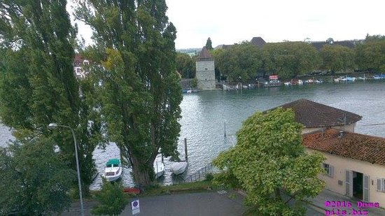 Ibis Konstanz Hotel: view from a corner room